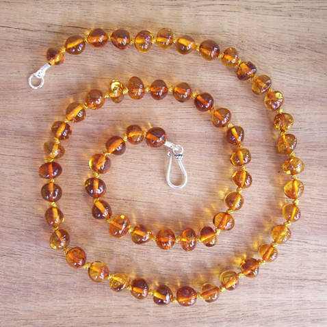 Cognac Adult Necklace Image