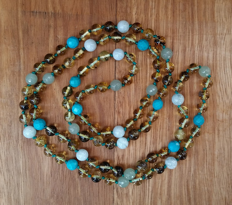 Blue Gum Endless Necklace Image