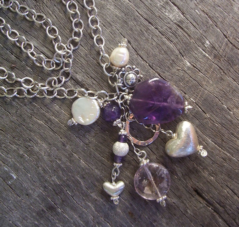Selkie Chain Bunch in Purple Image