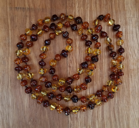 Ochre Endless Necklace Image