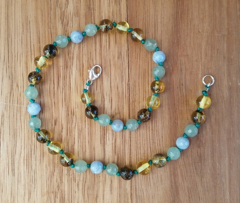 Platypus Gem Teething Necklace Image