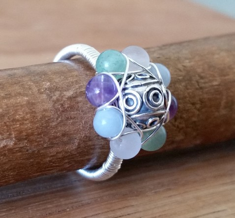 Gypsy Flower Ring Image