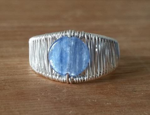Elven Kyanite Ring Image