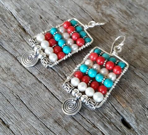 Tribal Earrings Image