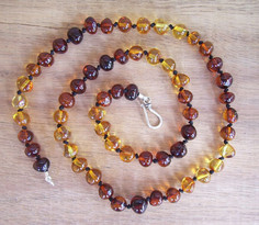 Dark Rainbow Adult Necklace Image