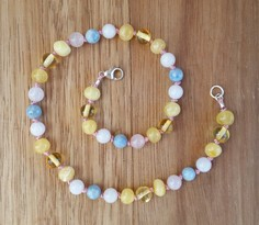 Butterfly Gem Teething Necklace Image