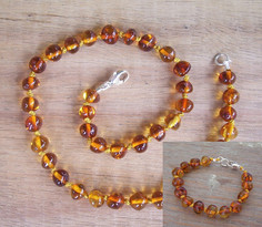 Cognac Teething Set Image