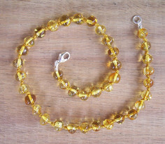 Honey - Baltic Amber Teething Necklace. Image