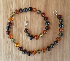 Maple - Baltic Amber Teething Necklace. Image