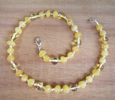 Milky Sunlight - Baltic Amber Teething Necklace. Image
