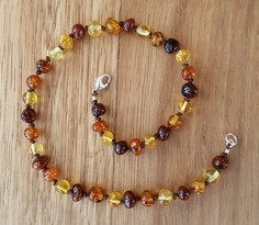 Ochre - Baltic Amber Teething Necklace Image