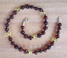 Ragga Muffin - Baltic Amber Teething Necklace. Image